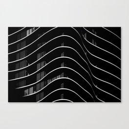 Aqua I Canvas Print