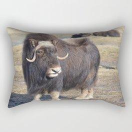 Arctic Muskox Rectangular Pillow