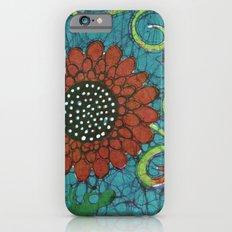 Kate's Flower Batik iPhone 6s Slim Case