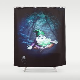 Mysterious Connection Shower Curtain