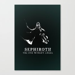 Sephiroth - One Winged Angel Canvas Print