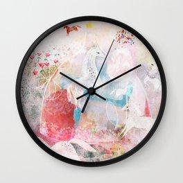 Chevaux Wall Clock