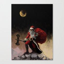 Santa Frazetta Canvas Print