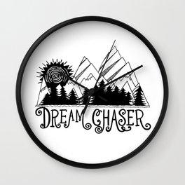 Dream Chaser, Mountain Adventure Wall Clock