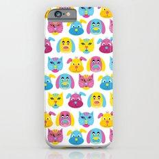 Cat Dogs Pattern Slim Case iPhone 6s