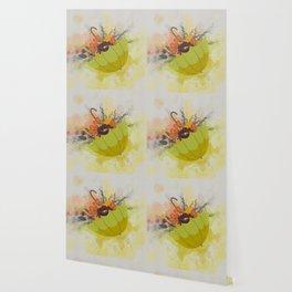 Autmn Floral Umbrella Wallpaper