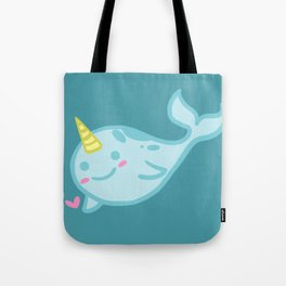 Nelly the Narwhal! Tote Bag