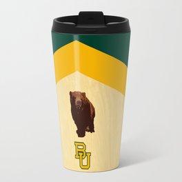 Baylor University - BU logo with bear Travel Mug