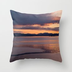 The last exertion before the fall Throw Pillow