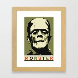 Monster (Boris Karloff) Framed Art Print