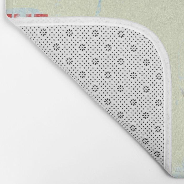 Soapy Bath Mat