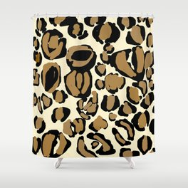 LEOPARD TTY N7 Shower Curtain