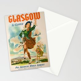 Vintage poster - Glasgow Stationery Cards