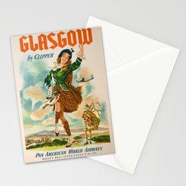 Vintage poster - Glasgow Stationery Cards
