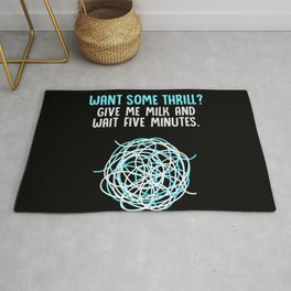 Dairy Free Dairy Allergy Awareness Rug