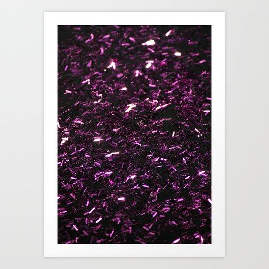Sparkling Rain  Art Print