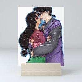 Sango and Miroku Mini Art Print