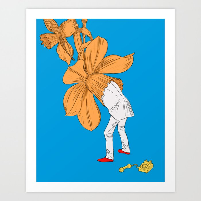 Autobiographical Feelings About the Internet Art Print