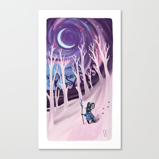 Aries Canvas Print