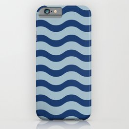 Waves of Lapis iPhone Case