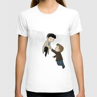 destiel T-shirts featuring Guardian angel by Depraved-o