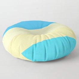 Sky Sun Sand Sea Floor Pillow