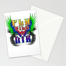Fly Till I Die Stationery Cards
