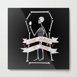 Mr. Narcissistic Metal Print