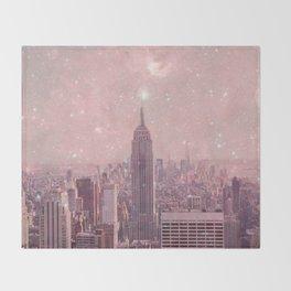 Stardust Covering New York Throw Blanket