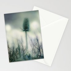 Ice Blue Meadow Stationery Cards