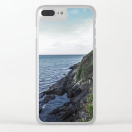 Along the sea in Ireland Clear iPhone Case