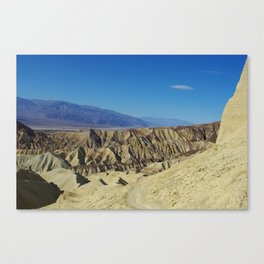 Hiking trail, Death Valley Canvas Print
