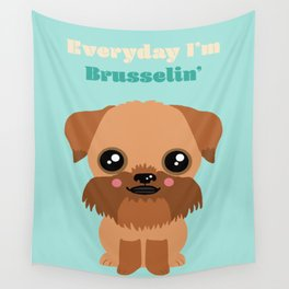 Brussels Griffon Wall Tapestry