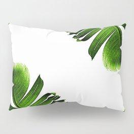 Green banana leaf Pillow Sham