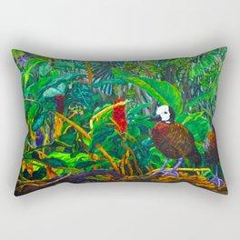White-Faced Whistling Ducks Rectangular Pillow