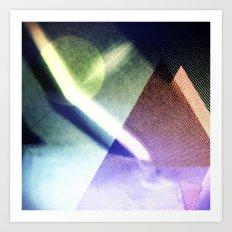 MOONLIGHT_COLOR Art Print