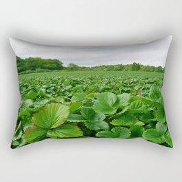strawberry field Rectangular Pillow