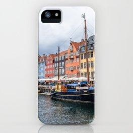 Nyhavn waterfront in Copenhagen iPhone Case