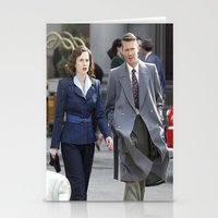 agent carter Stationery Cards featuring Jack Thompson & Peggy Carter - Agent Carter. by agentcarter23