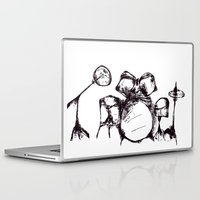 drums Laptop & iPad Skins featuring Drums by Jake Stanton