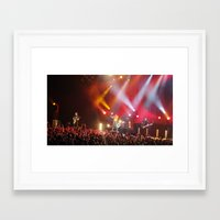 hayley williams Framed Art Prints featuring Hayley Williams by Audrey's Photography