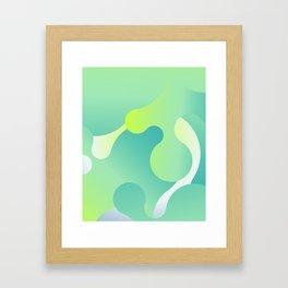 Lava Lamp v.2 Framed Art Print