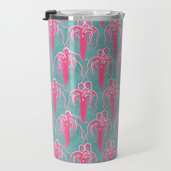 giant squid Travel Mug