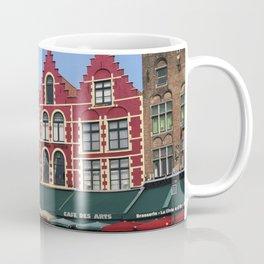 BELGIUM BRUGGES HOUSES Coffee Mug