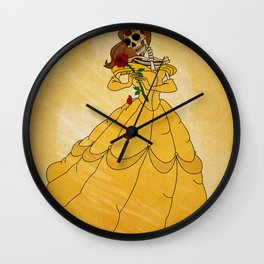 Day of the Dead/Belle Wall Clock