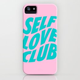 self love club iPhone Case