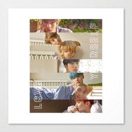 BTS LOVE YOURSELF HER - L O V E Canvas Print