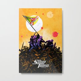 Starship Troopers Metal Print