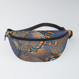 Fly With Me - Butterfly Wing Photography by Fluid Nature Fanny Pack