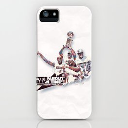Lebron//NBA Champion 2012 iPhone Case